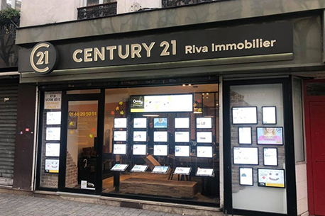 Agence immobilière CENTURY 21 Riva Immobilier, 93200 ST DENIS